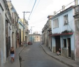 Narrow streets in Camaguey