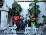 Band playing for us