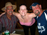 Neville, Amy & Rick#2 - we're at the Camaguey airport now - almost gone!!