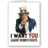 I Want You Against Women's Rights