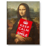 Mona Lisa Says: Keep Calm And Smile