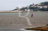 A Lagoa de Óbidos em 4 de agosto de 2011