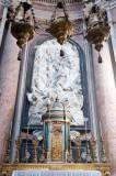 Coroação da Virgem pela Santíssima Trindade, por Alessandro Giusti