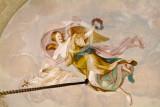 Teto: A Aurora Trazendo a Felicidade Pública e a Abundância, de Cirilo Machado (1814)