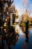 O Parque D. Carlos em 8 de janeiro de 2012