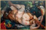 Sobreposição de dois óleos de Eduardo Viana