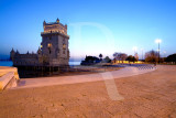 The Tower of Belem Sq.
