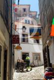 Rua da Costa do Castelo em 15 de junho de 2004