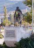 The Monument to the Bicycle Racer Joaquim Agostinho