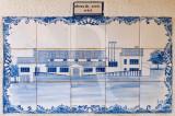 A Junta e o Centro Recreativo em Azulejo