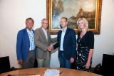 Ondertekening Sponsor Contract Sleepbootdagen Vianen