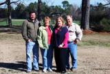2011 - Aaron Griner, Karen, Ouida and Breman Griner in Alapaha, GA