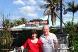 February 2011 - former YN2 Donna Sakis Hildoer and Don in Dania Beach