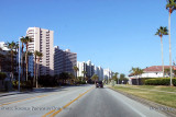 2011 - looking north on Gulf Boulevard on Sand Key landscape stock photo #5576