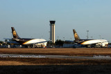 2011 - UPS A-300 and B757 cargo aircraft at St. Petersburg-Clearwater International Airport stock photo #5599