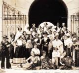 1931 - a drama class at William Jennings Bryan Junior High in North Miami