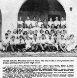 1931? - the graduating class at William Jennings Bryan Junior High School in North Miami