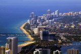 2011 - aerial view of Sunny Isles Beach, Haulover Park and Inlet, and Bal Harbour, Surfside and Miami Beach