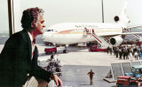 1970's - Aviation Director Dick Judy observing the loading of a National Airlines DC10-30 at Amsterdam