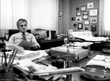 Dick Judy in his office at Miami International Airport