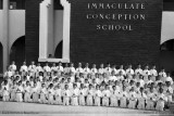 1957-1958 - Boys Communion class at Immaculate Conception School