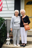 June 2011 - Betty Lou Vincent and Karen's mom Esther M. Criswell in Alexandria, Virginia