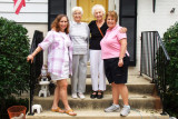 June 2011 - Lindsey Bender, Betty Lou Vincent, Esther M. Criswell and Karen in Alexandria, VA