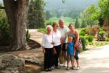 June 2011 - Esther M. Criswell, Karen, Don, Karen D. Kramer and Kyler Kramer at the Broadmoor Hotel golf course