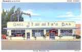 1944 - postcard image of Jimmie's on the Trail, 3651 SW 8 Street, Miami