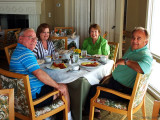 July 2011 - Don, Ouida Griner, Karen, and Breman Griner at the Innlet restaurant at the Lodge & Club on Ponte Vedra Beach