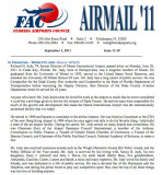 September 2011 - Florida Airports Council article about Dick Judy's passing