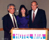 Late 1980's - Aviation Director Dick Judy, Marcia Fernandez and Deputy Director George E. Spofford