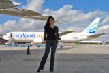 Daimary Perdomo on the 2011 Aviation Photographers Tour at MIA #5744