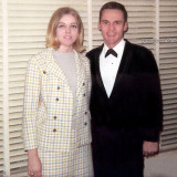 January 1969 - fiance' Judy and Don Boyd before serving as best man at Ray and Lynda Kyse's wedding in Hialeah that evening