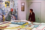 Late 1960's / early 1970's - Port Authority Director Alan Stewart and Dick Judy planning MIA's expansion