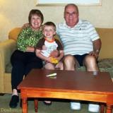 July 2010 - Karen, our grandson Kyler and Don Boyd at Embassy Suites, Denver International Airport
