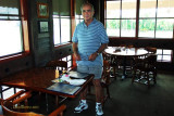 July 2010 - LCDR Ken Grossman, USCGR retired, before lunch at the Islamorada Fish Company in Dania Beach
