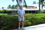 July 2010 - LCDR Ken Grossman, USCGR retired, after lunch at the Islamorada Fish Company in Dania Beach