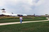 September 2011 - Karen at Scott Field Air Heritage Park, Illinois