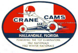 Early 1960's - decal for Crane Cams