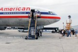 2012 MIA Airfield Tour - on Central Base going on American Airlines B777-223/ER N755AN and B767