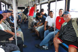 2012 MIA Airfield Tour - Eddy Gual (right front) and a group of fine aviation photographers on bus #2