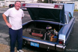 2012 - Steve J. Jenkins (HHS class of 1964) and his 1965 Plymouth Sport Fury