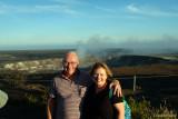July 2009 - Don and Karen at the Kīlauea Volcano on the Big Island, Hawaii