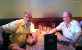 March 2012 - CWO4 (ENG) Bill Mauter, USCGR (Ret.) and Don after a long lunch and rum runners at Cheddars