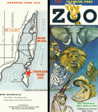 Late 1960's - a Crandon Park Zoo brochure distributed to the public