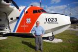 November 2011 - Russ Martin and Coast Guard HU-16E Albatross at Clearwater