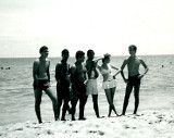 August 1, 1964 - Beach party for the cast of Monkey's Uncle - click on the image to view the gallery