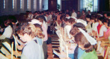 1964 - C.Y.O. members at a mass at Immaculate Conception Church, Hialeah
