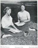1957 - closeup of Coral Gables High Calendar Girls